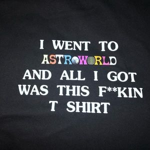 Tops - Astroworld t shirt